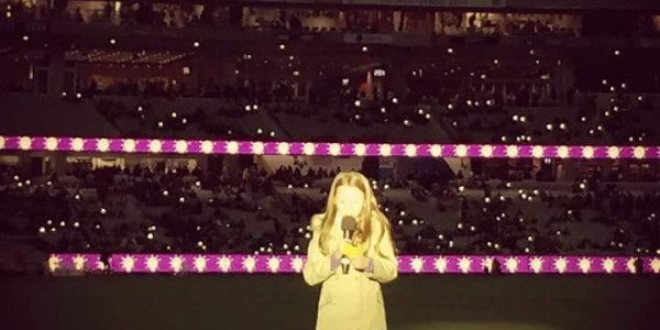 Emma from 3-4F at BCPS represented The Alannah and Madeline Foundation at the MCG!